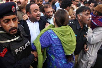 Khwaja Izhar Hassan Arrest