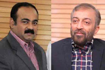 Khwaja Izhar ul Hassan-Dr Farooq Sattar