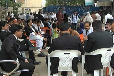 Lawyers Community Protests