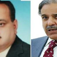 Mohammad Amin Bhat and Shahbaz Sharif