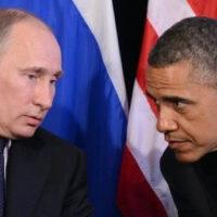 Obama and Vladimir Putin