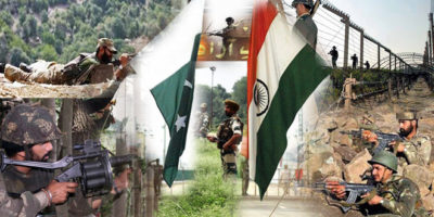 Pakistan and India War