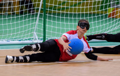 Paralympic Goalball