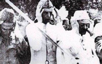 Quaid-e-Azam-Offering Prayers
