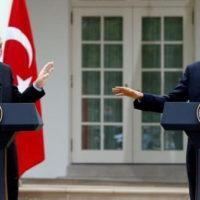 Recep Tayyip Erdogan and Obama
