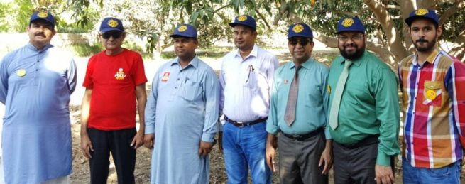Rotary International Polio Committee officials