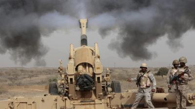 Saudi Forces Bombing