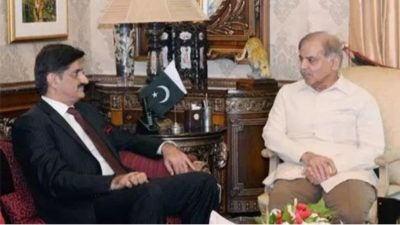 Shahbaz Sharif and Murad Ali Shah Met