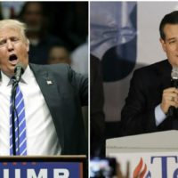 Ted Cruz and Trump