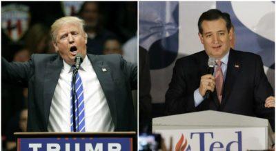 Ted Cruz and Trump