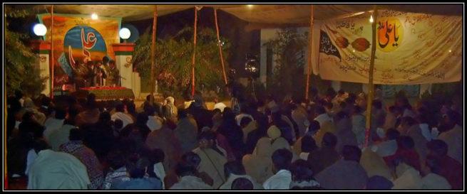 Majlis e Aza at Darbar e Muhammadiyah KandhanWala Shareef