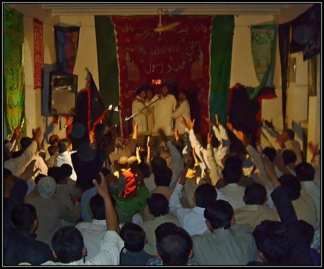 Zakir Habib Raza Jhandvi at Majlis e Aza