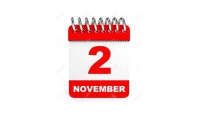 2 November