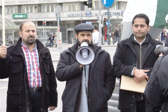 Austria Kashmir solidarity Day Rally