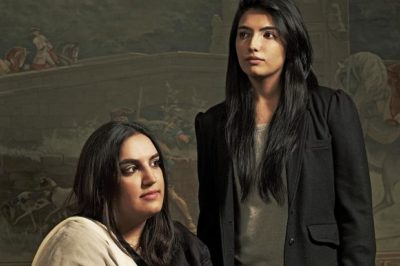 Bakhtawar and Assefa Bhutto