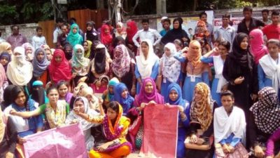 Bangladesh Women Protest