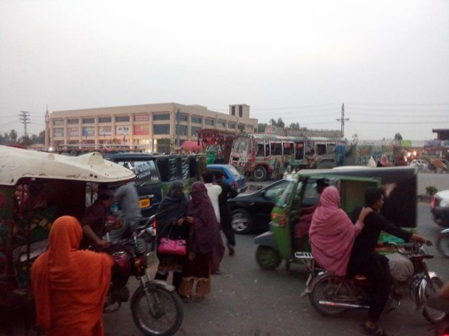 Ferozepur Road Traffic Jams