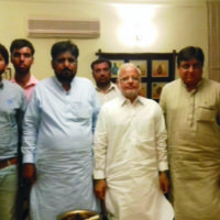 Ijaz Choudhary Meeting