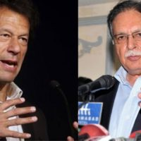 Imran Khan and Pervez Rasheed