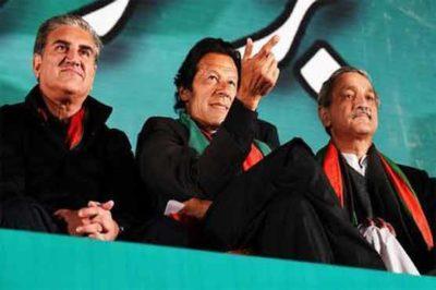 Imran Khan and Shah Mehmood Qureshi
