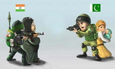 Indian Army and Pakistan Army