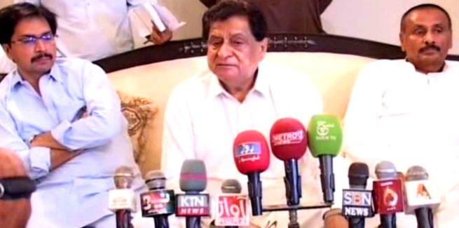 K.N.Shah, Liaquat Ali Jatoi