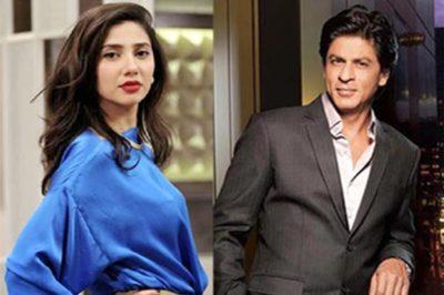 Mahrh Khan and Shahrukh Khan