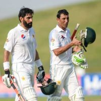 Misbah ul Haq and Younis Khan