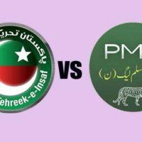 PML-N vs PTI