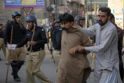 PTI Worker Arrest