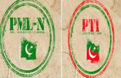 PTI vs PMLN-N