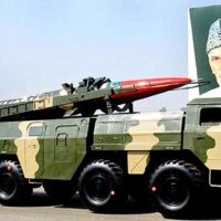 Pakistan Nuclear Capable Missile