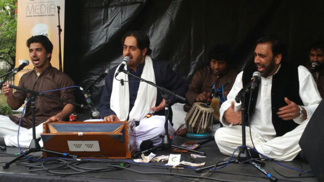 Pakistani Consulate Manchester Qawwali Program