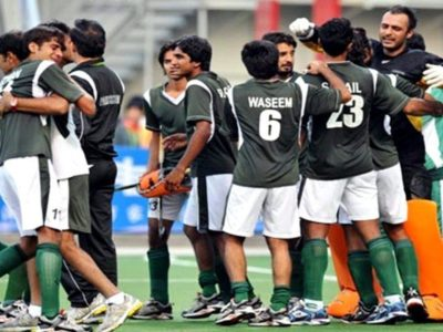 Pakistani Hockey Team