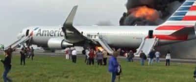 Plane Fire