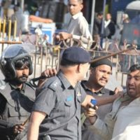 Police Arrest PTI Workers