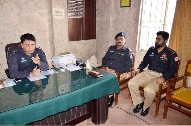 Police Staion Wah Sadar