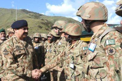 Raheel Sharif Visit LOC