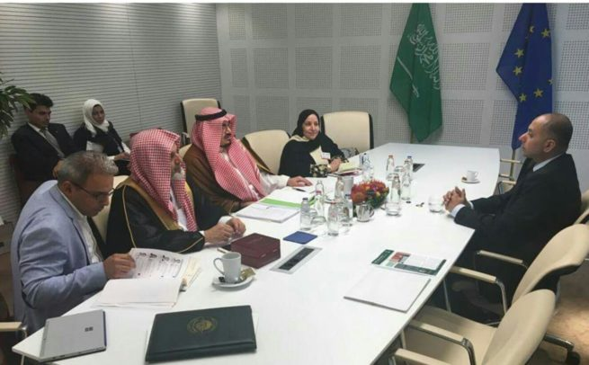 SHK with SA delegation in Brxle EP
