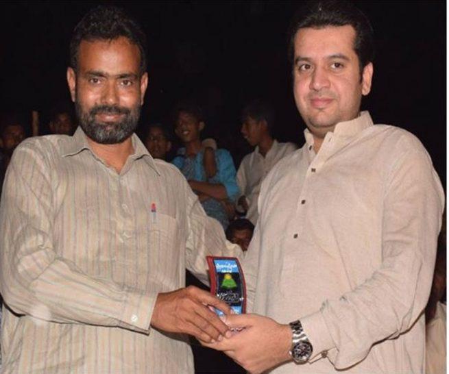 Sahil Munir With MPA Mehar Amir Hayat Hiraj