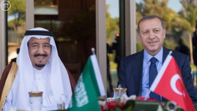 Saudi Arabia and Turkey summit Meeting