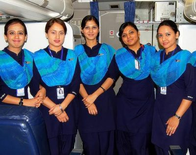 Shaheen Airline Hostess