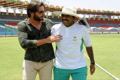 Shahid and Javed Miandad