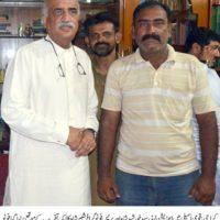 Syed Khursheed Shah and Shabir Shah