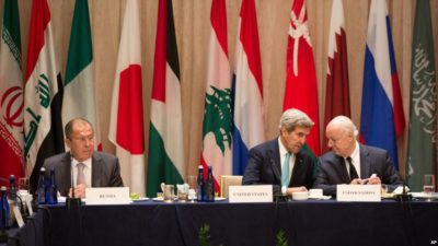 Syria Situation Diplomatic Meetings