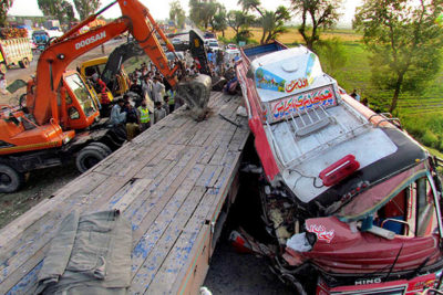Traffic Accidents in Pakistan