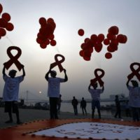 Aids Day Celebrating