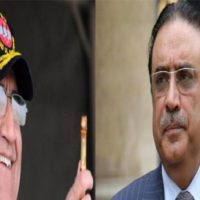 Asif Ali Zardari and General Qamar Bajwa