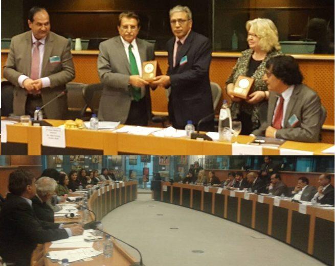 Award By AJK PM to Chairman KC EU
