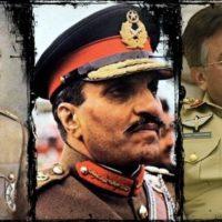 Ayub Khan, Zia ul Haq and Musharraf